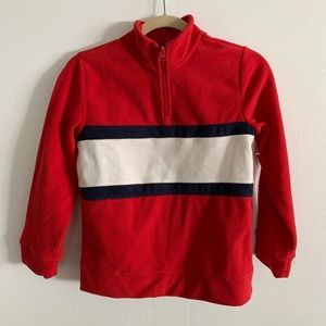 Old navy fleece color block Pullover Size 10-12